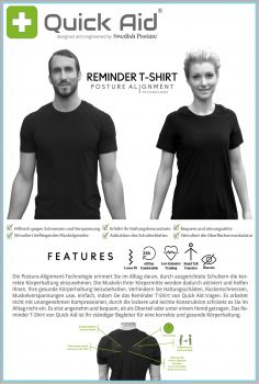 Quick Aid Reminder T-Shirt Damen
